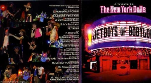 Jetboys Of Babylon CD Cover Featuring My New York Dolls photographs