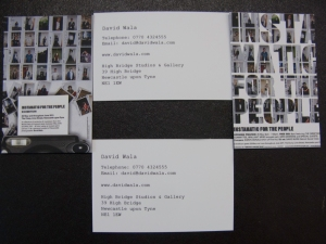 Instamatic for the People Business Cards