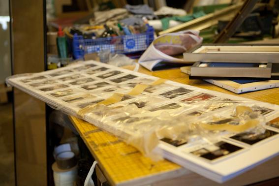 Instax prints ready to frame