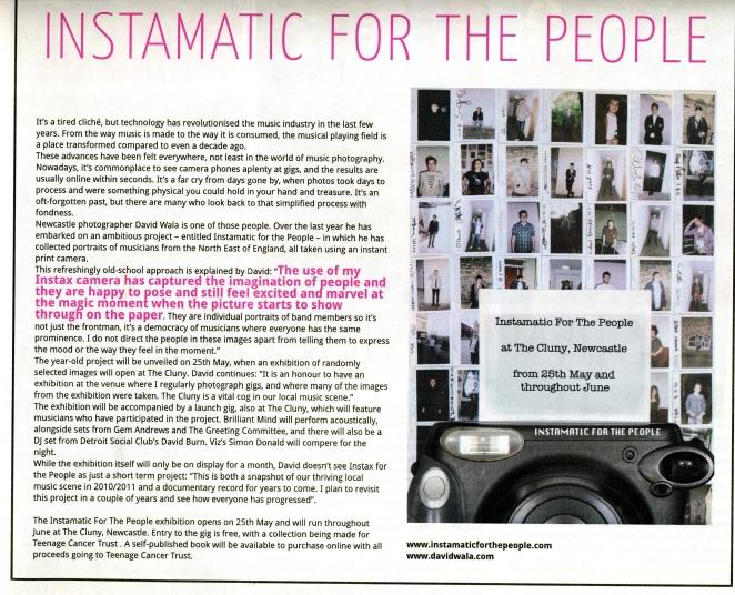 Narc May 2011 Article