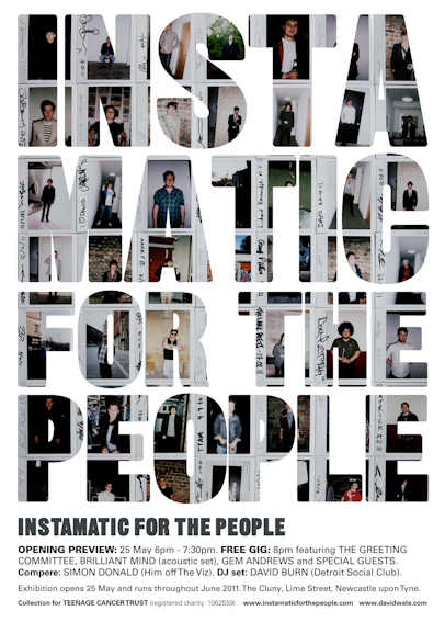 Instamatic for the People Gig Poster