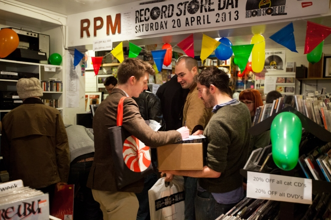 RPM REcord Store Day Newcastle 2013
