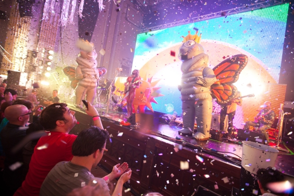 Flaming Lips, Usher Hall, Edinburgh, 26th May 2014