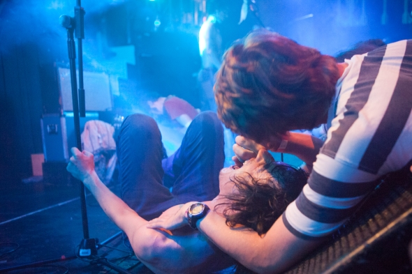 Fat White Family, The Kazimier, Liverpool, 18th August 2014