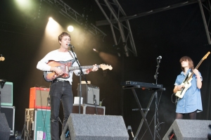 Drinks perform at End Of The Road Festival, Larmer Tree Gardens, Salisbury, 5th September 2015