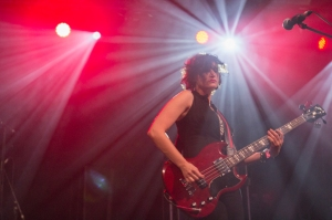 Ex Hex,perform at End Of The Road Festival, Larmer Tree Gardens, Salisbury, 5th September 2015