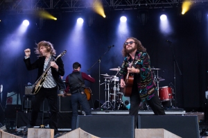 My Morning Jacket,perform at End Of The Road Festival, Larmer Tree Gardens, Salisbury, 5th September 2015