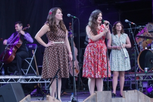 The Unthanks,perform at End Of The Road Festival, Larmer Tree Gardens, Salisbury, 5th September 2015