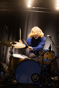 Fuzz, perform at End Of The Road Festival, Larmer Tree Gardens, Salisbury, 4th September 2015