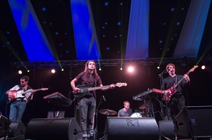 Wand,perform at End Of The Road Festival, Larmer Tree Gardens, Salisbury, 6th September 2015