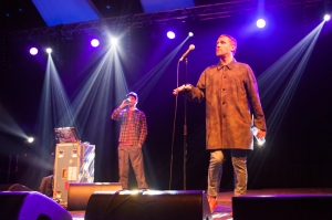 Sleaford Mods,Headline the Big Top stage,End Of The Road Festival, Larmer Tree Gardens, Salisbury, 5th September 2015
