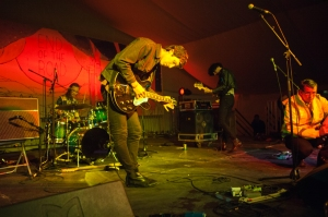 The Voyeurs,perform at End Of The Road Festival, Larmer Tree Gardens, Salisbury, 5th September 2015