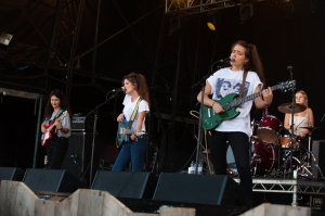 Hinds,perform at End Of The Road Festival, Larmer Tree Gardens, Salisbury, 6th September 2015