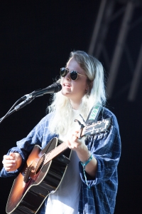 Marika Hackman,performs at End Of The Road Festival, Larmer Tree Gardens, Salisbury, 6th September 2015