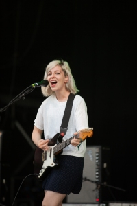 Alvvays,perform at End Of The Road Festival, Larmer Tree Gardens, Salisbury, 6th September 2015