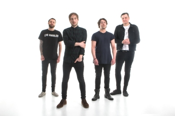 Face The Ocean, Studio Shoot, Newcastle, March 2016