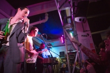 Fat White Family, perform an in store to celebrate the release of their album Songs For Our Mothers, Rough Trade East, London, 28th January 2016