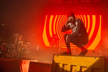 Twenty One Pilots, perform at o2 Academy, Newcastle, 19th February 2016